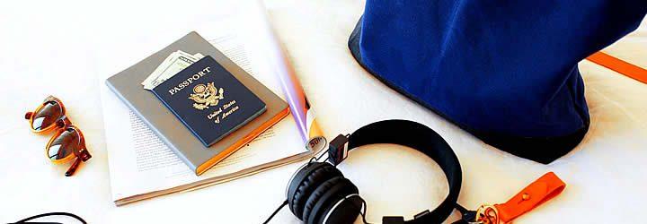 Objetos úteis para viagem