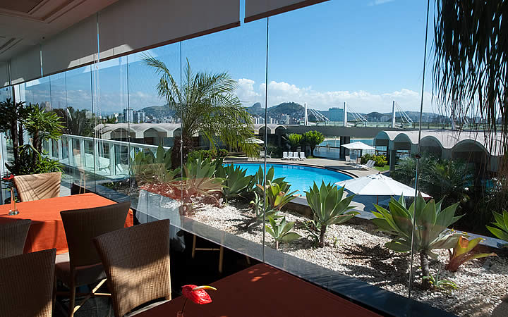 Piscina do Hotel Senac Ilha do Boi