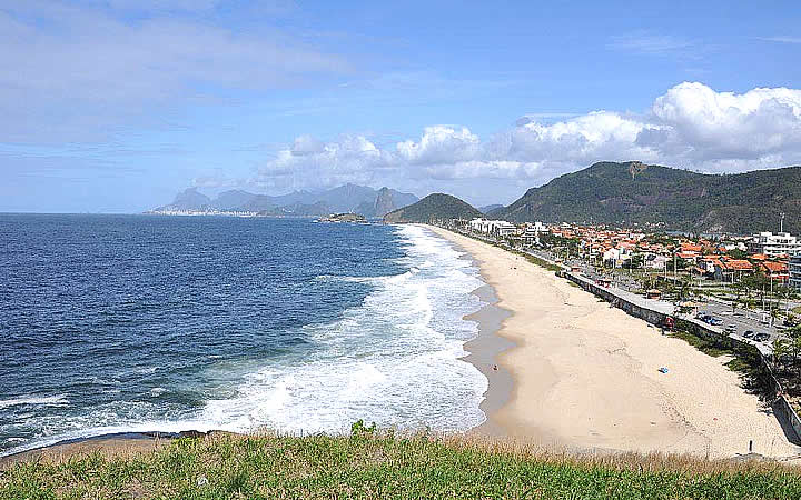 Praia de Piratininga em Niterói