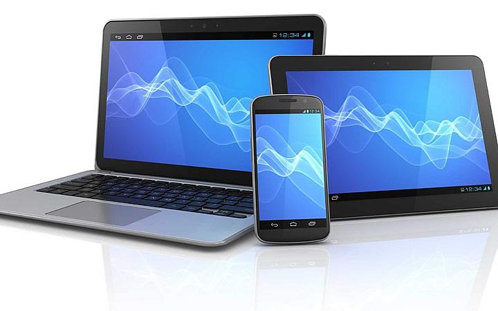 Smartphones, notebooks ou tablets