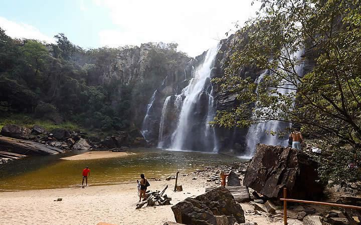 Cachoeira do Salto do Corumba - Cidades próximas a Brasília