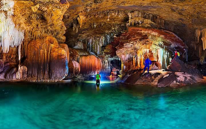 Caverna no Parque Estadual de Terra Ronca - Cidades próximas a Brasília