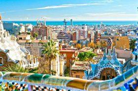 Construções bonitas em Barcelona - Europa