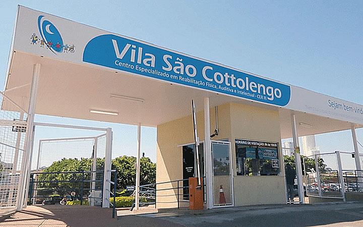 Fachada da Vila São Cottolengo