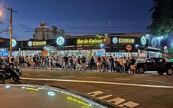 Fachada do Bar do Carioca em Campinas
