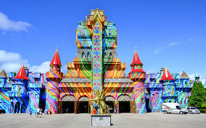 Fachada do Beto Carrero World