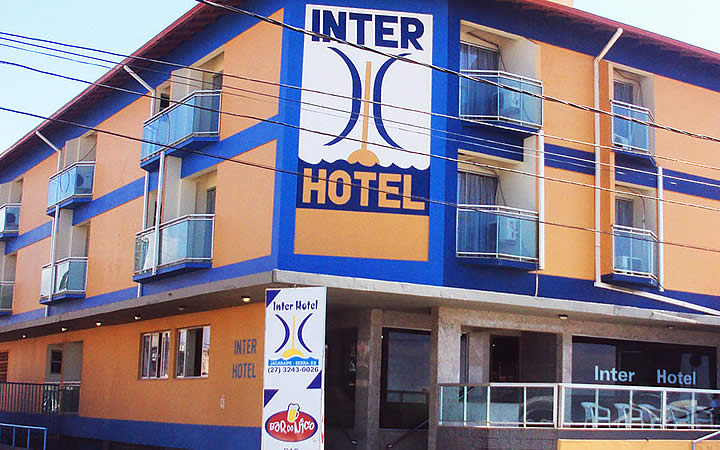 Fachada do Inter Hotel