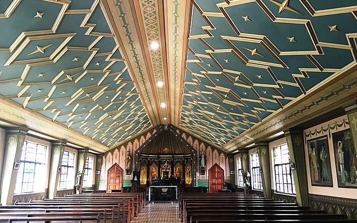 Interior da Capela São Bento