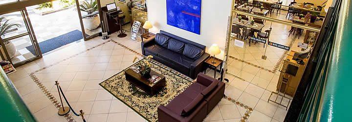 Interior do Hotel Golden - Viracopos