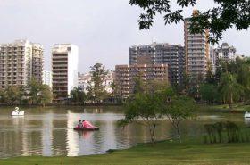 Lago em São Lourenço