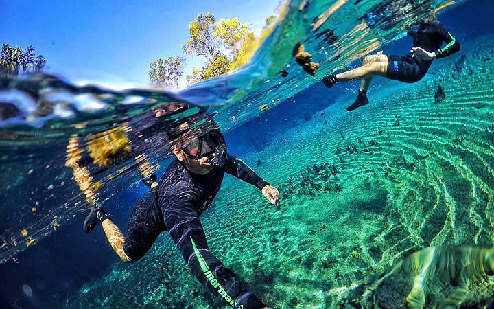 Mergulho no Rio Sucurri em Bonito