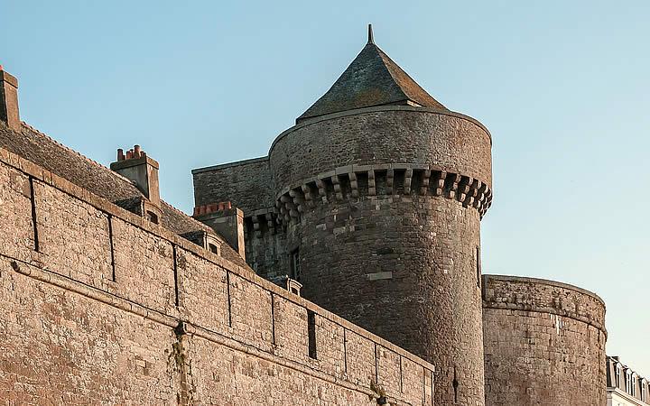 Muros em Saint-Malo