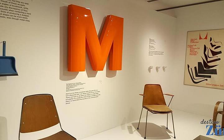 Obras no Museu do Design