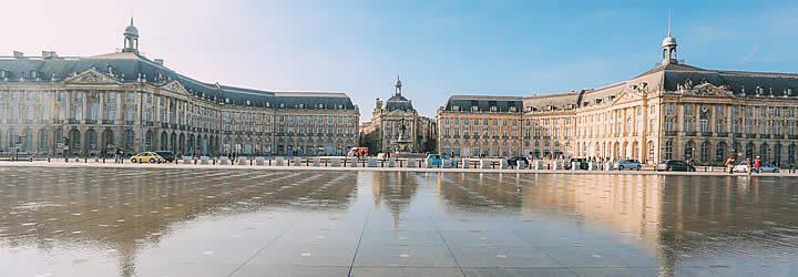 Palácio em Bordeaux