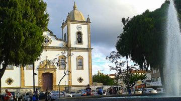 Praça dos Andradas - e Igreja