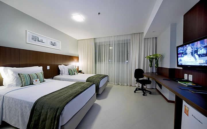 Quarto do Quality Hotel Vitória