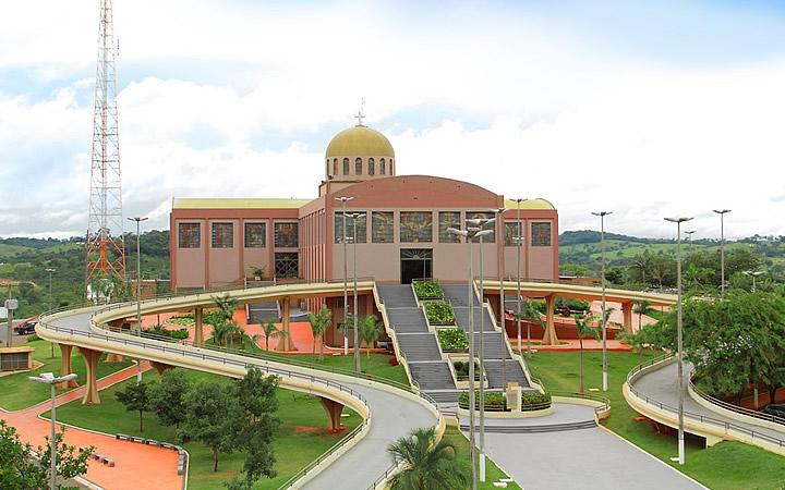 Santuário Basílica do Divino Pai Eterno - Trindade GO