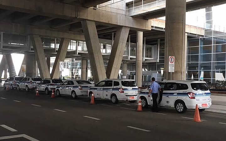 Táxi especial em Campinas