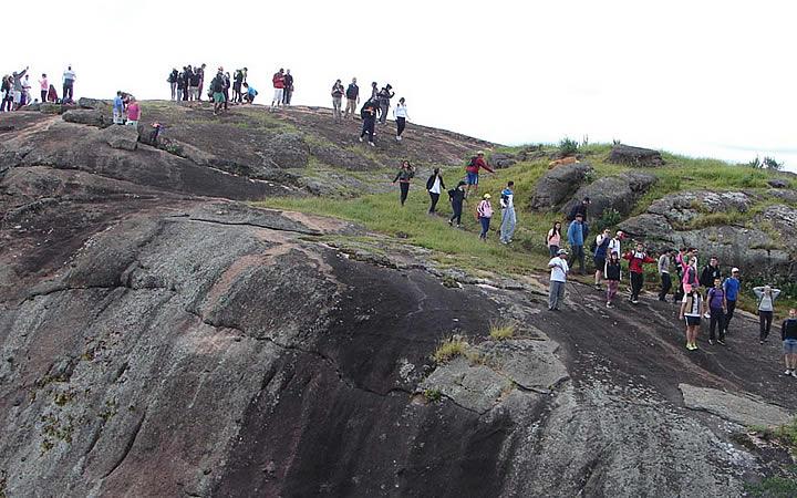 Trekking na Pedra do Elefante