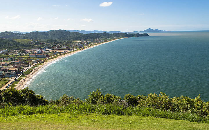 Vista do Morro do Careca - Navegantes