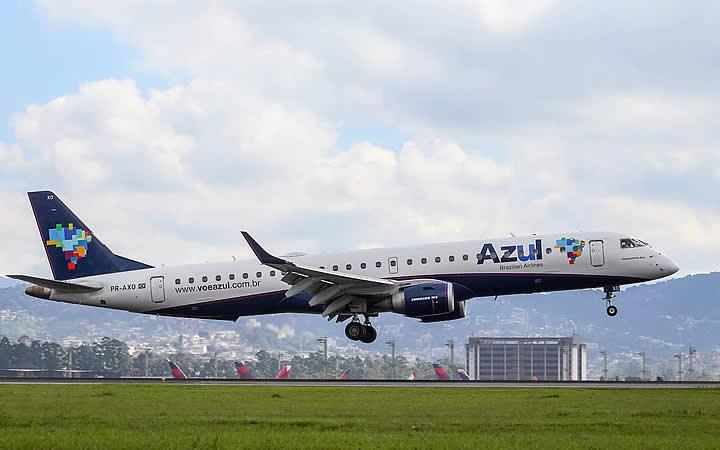 Aeronave Azul - Erro de Digitação na Passagem