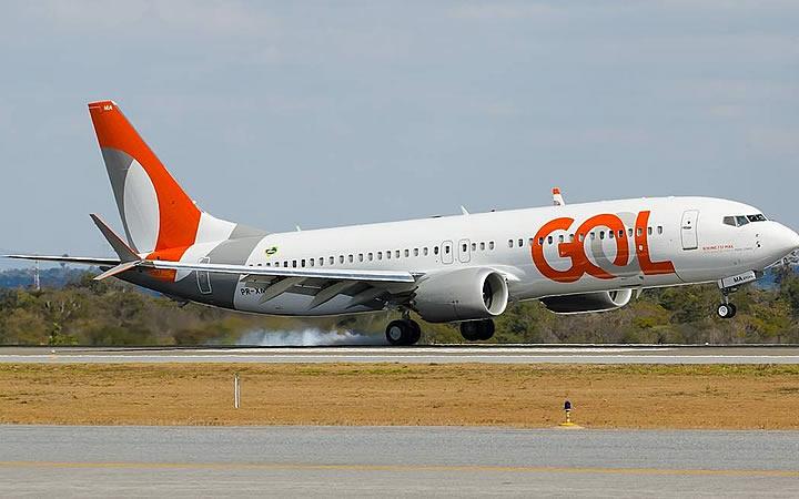 Aeronave GOL - Erro de digitação na passagem