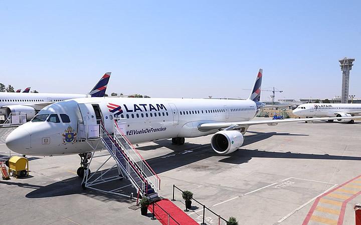 Aeronave LATAM - Erro de Digitação na Passagem