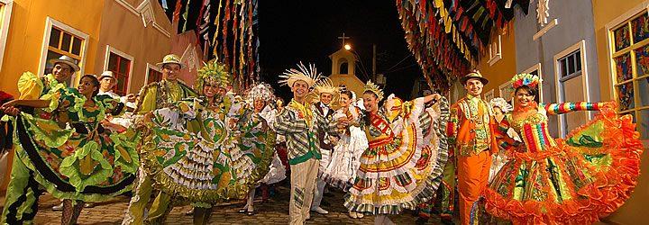 Grupo de festa junina