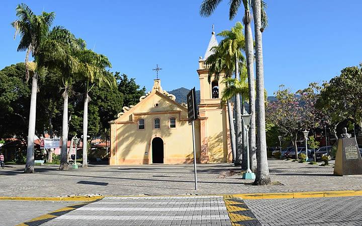 Igreja Matriz em São Sebastião