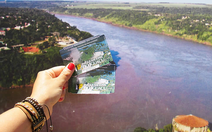 Ingressos para visitar as Cataratas do Iguaçu