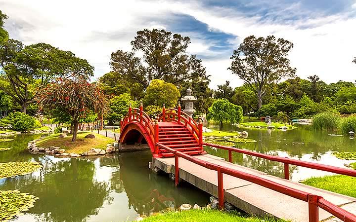 Jardim Japonês em Buenos Aires - Bairro Palermo