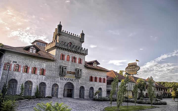 Pousada Castelo Benvenutti - Onde Ficar em Bento Gonçalves