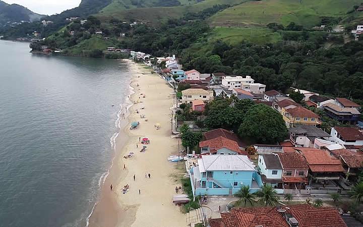 Praia Brava em Itacuruçá