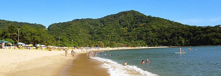 Praia em Boiçucanga