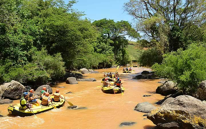 Rafting em Socorro SP - Viajar nas férias