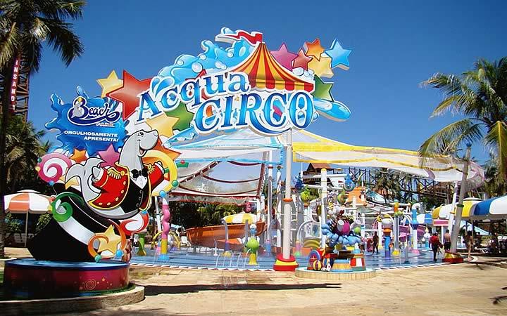 Aqua Circo no Beach Park