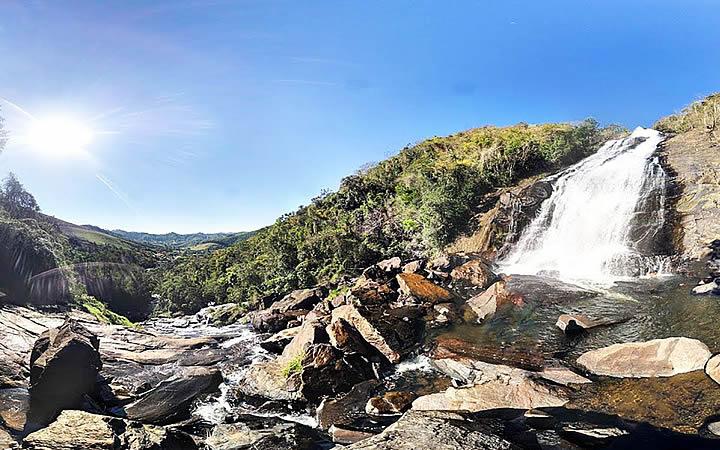 Cachoeira em Joanópolis