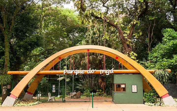 Entrada do Parque do Ingá