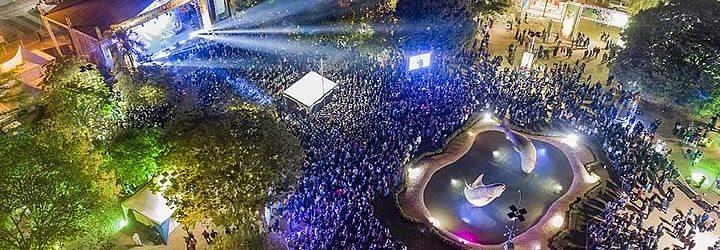 Festival de inverno em Bonito