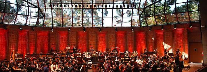 Orquestra no Festival de Inverno Campos do Jordão