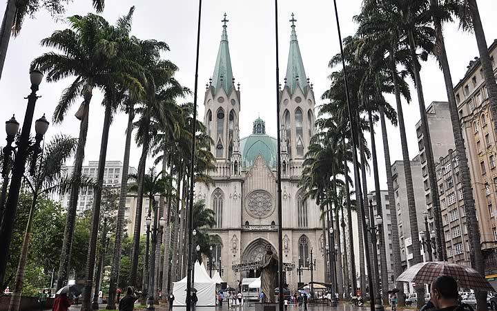 Praça e Catedral da Sé - São Paulo