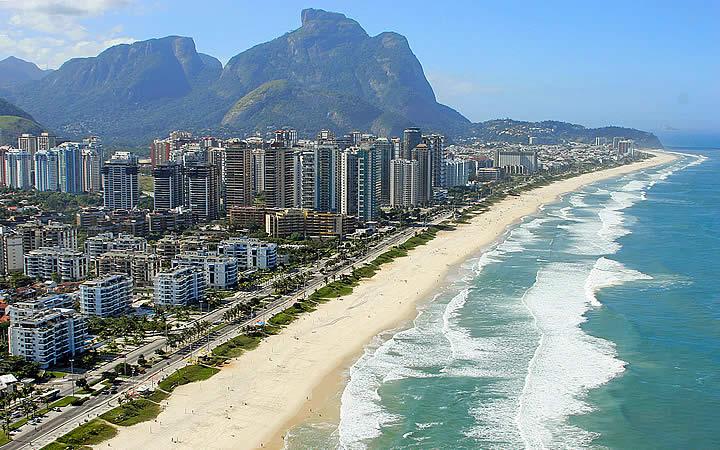 Praia da Barra - Praias do Rio de Janeiro