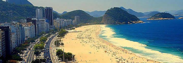 Praia de Copacabana - Praias do Rio de Janeiro