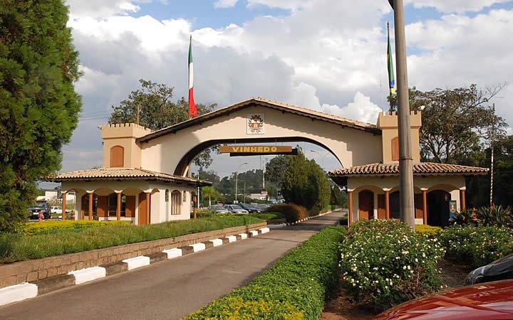 Portal da cidade de Vinhedo