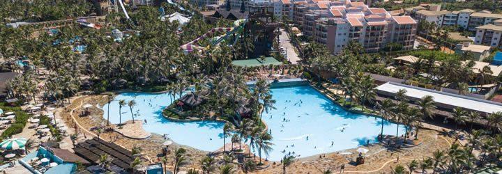 Vista aérea do Beach Park