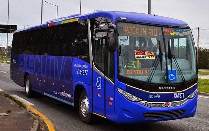 Ônibus para o Rock in Rio