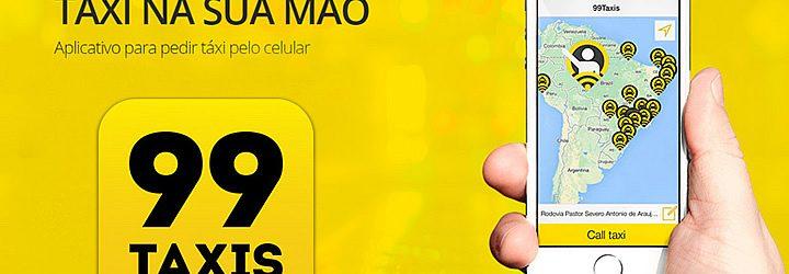 App do 99 táxi