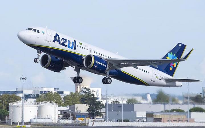 Avião da AZUL - Antecipar voo