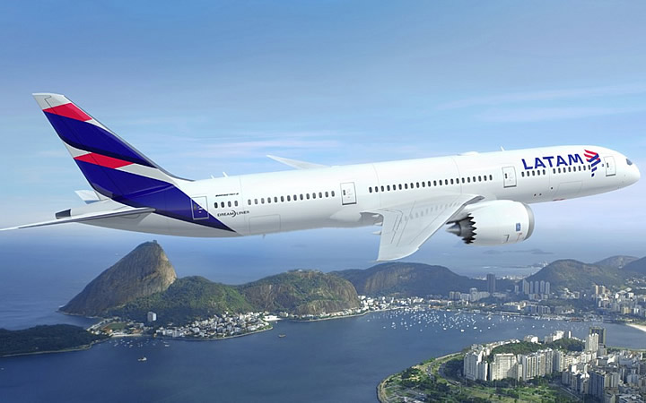 Avião da Latam
