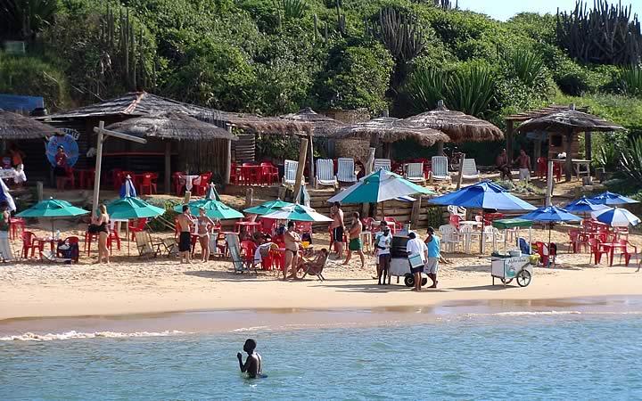 Barraca do Mineiro na Praia de Geribá